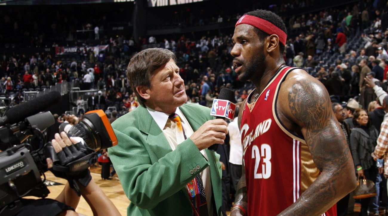 Craig Sager gets Hall of Fame media award