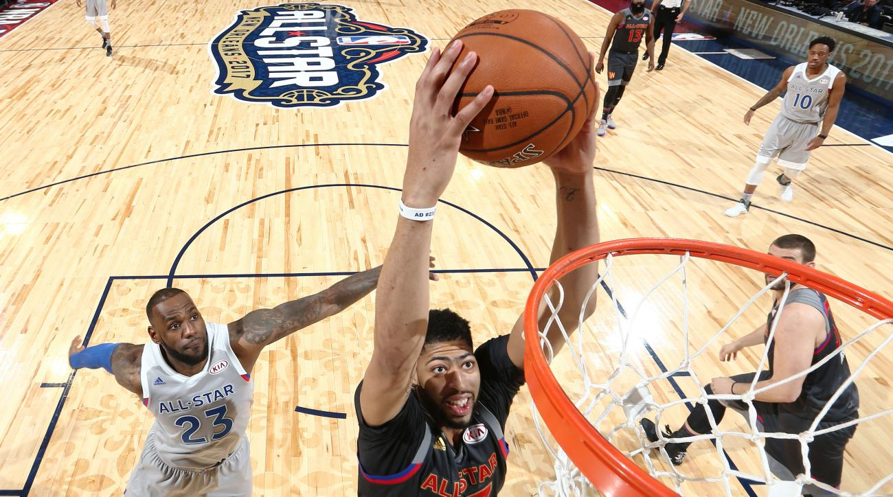 2017 all star game tickets nba - Anthony Davis Sets Scoring Record As West Beats East In 2017 All Star Game