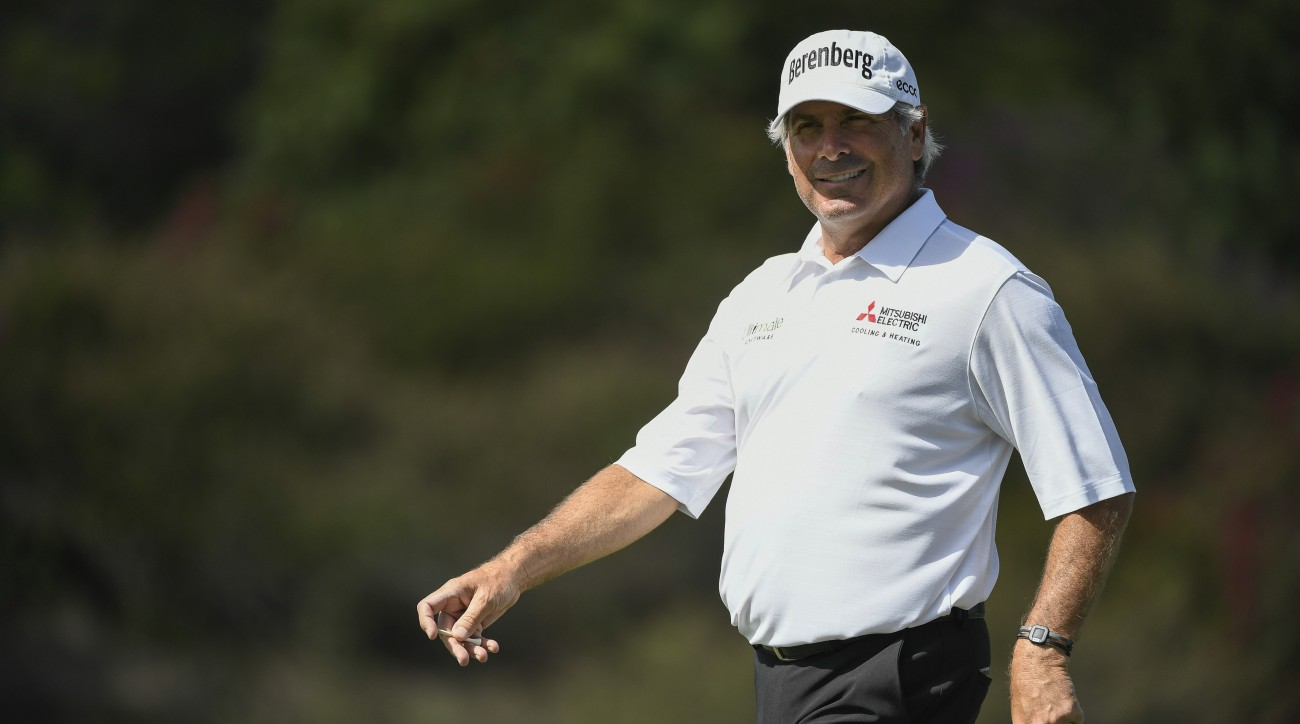 Fred Couples won his first PGA Tour Champions event since 2014 with a final round of 67 Sunday.