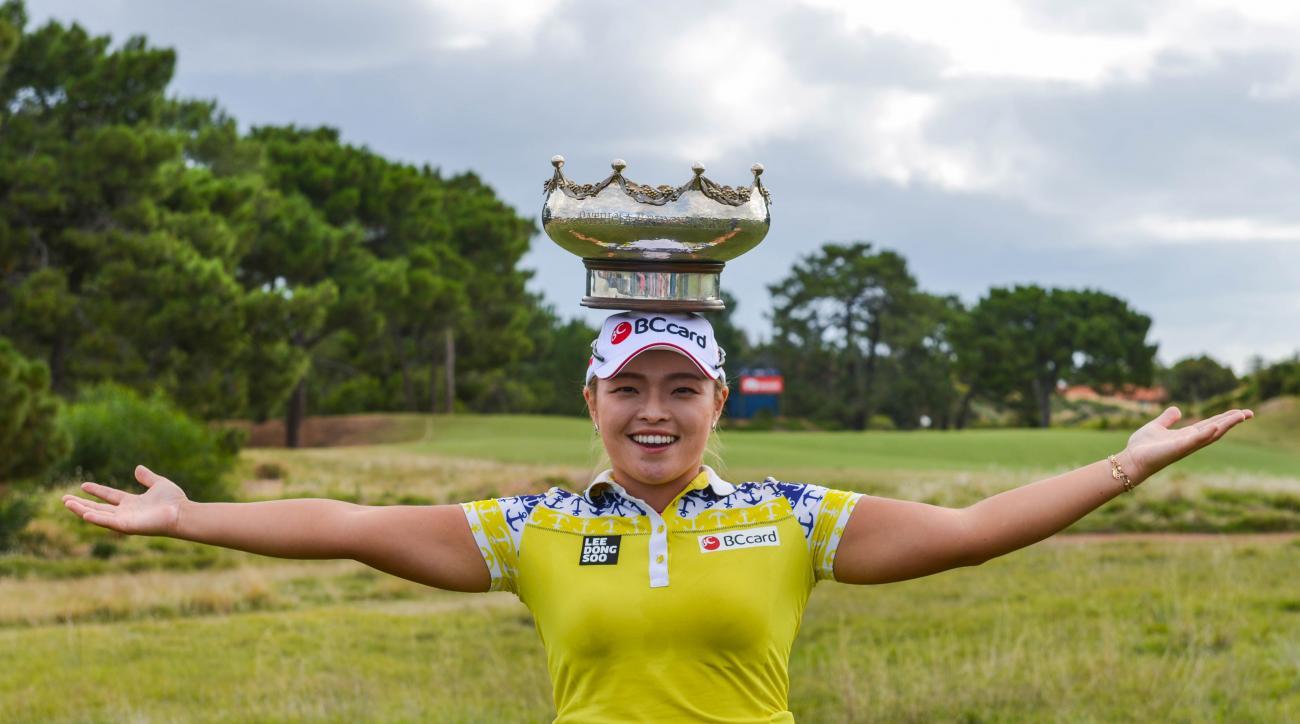 Ha Na Jang earned her fourth LPGA title this week.