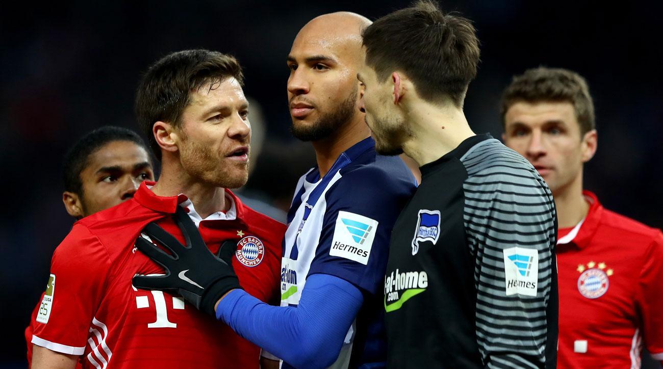 Bayern Munich and Hertha Berlin draw in the Bundesliga