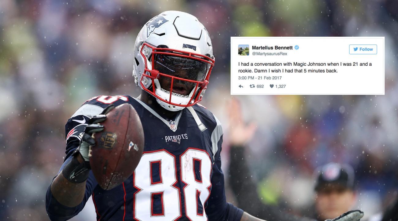 Martellus Bennett tweets about Magic Johnson misconstrued