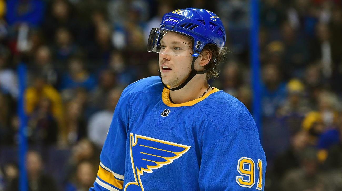 Vladimir Tarasenko surprised a young fan with the birthday gift of a lifetime.