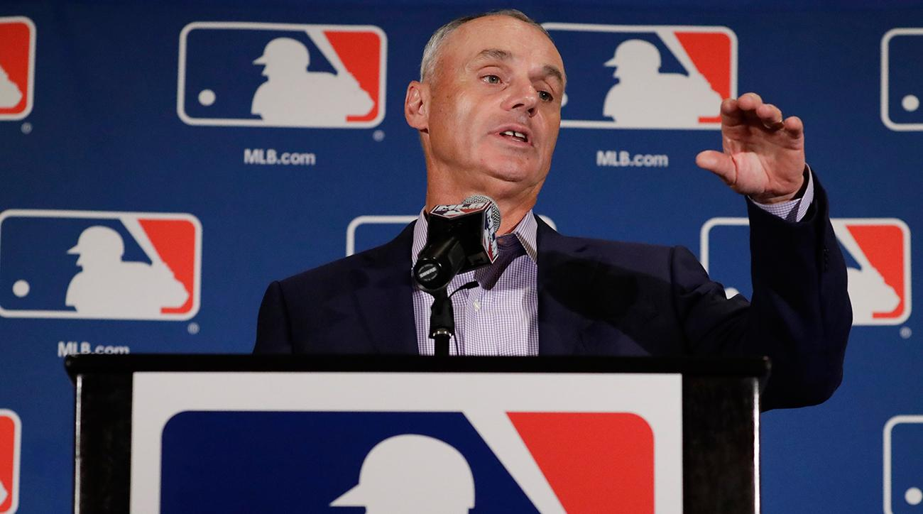 rob manfred mlb rules changes mlbpa