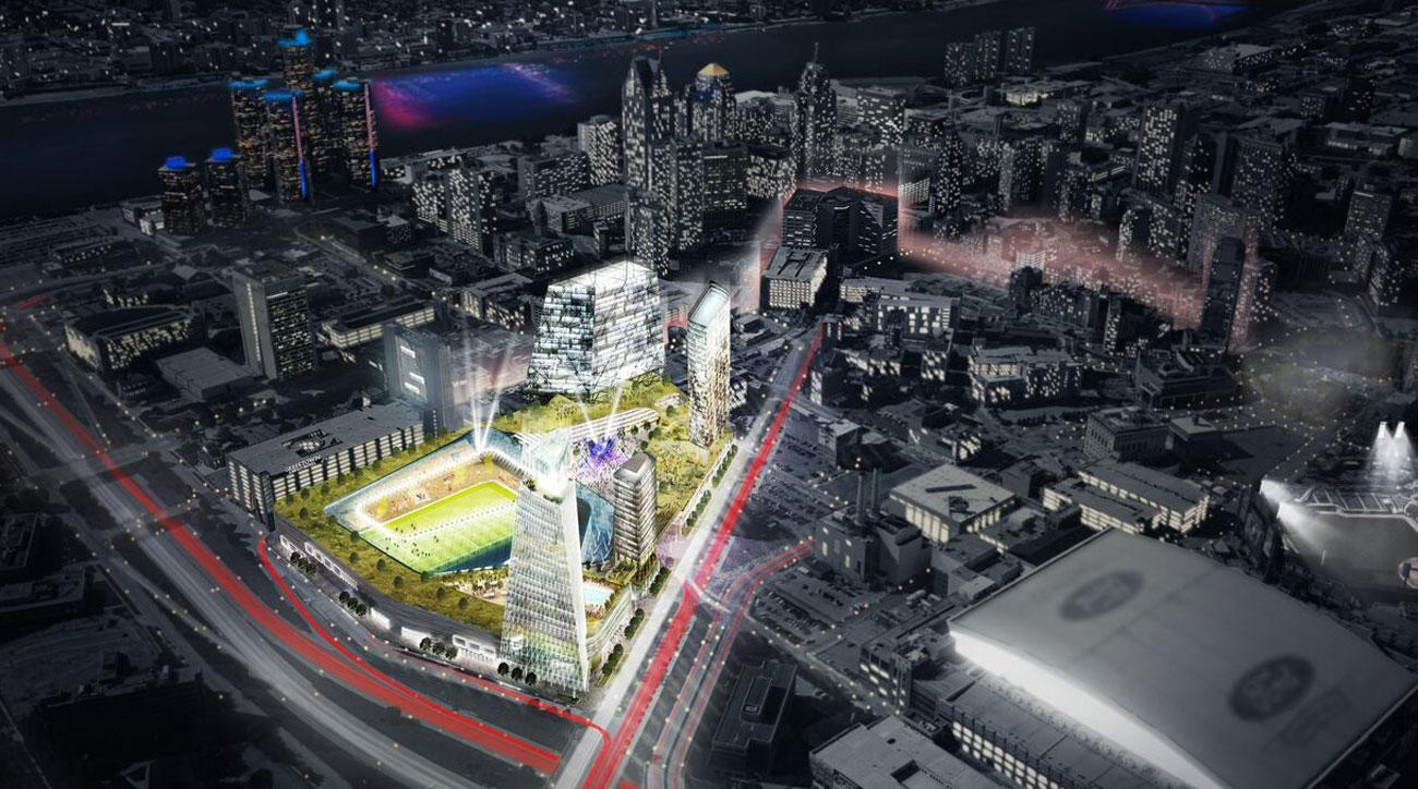 Detroit is bidding for an MLS expansion team
