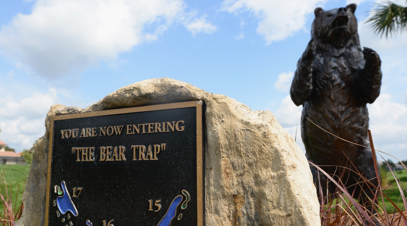 There's never a doubt when you reach the Bear Trap. An imposing sign makes it plenty clear you've entered the devilish stretch.