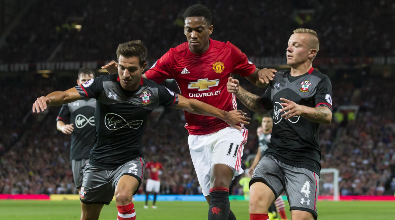 Manchester United takes on Southampton in the League Cup final on Sunday at Wembley.