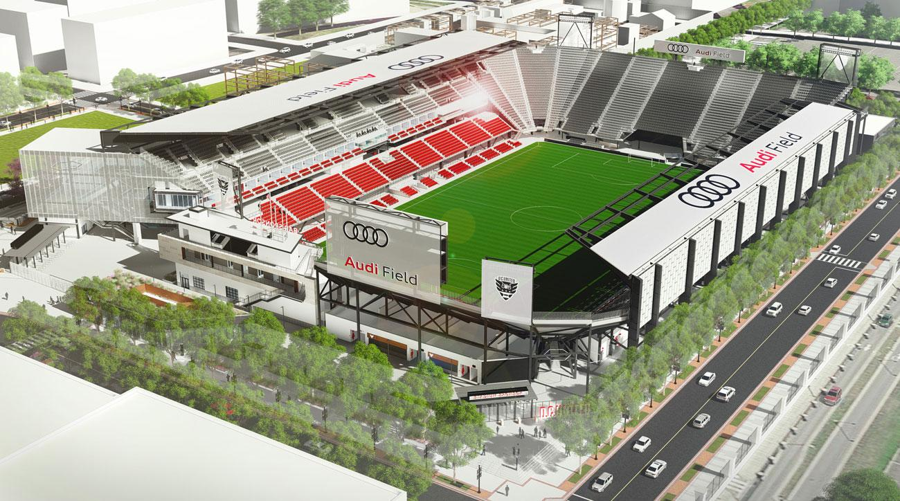 D.C. United will move to Audi Field in 2018