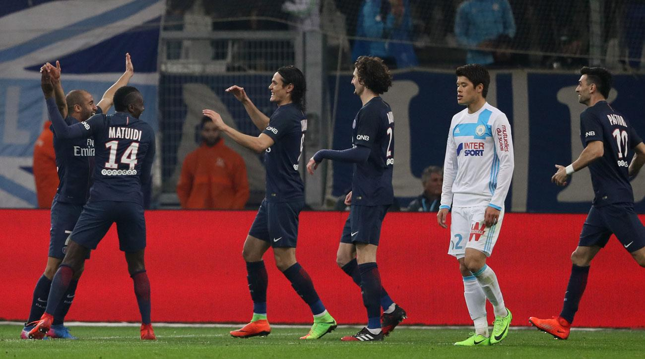 PSG thrashes Marseille in Ligue 1