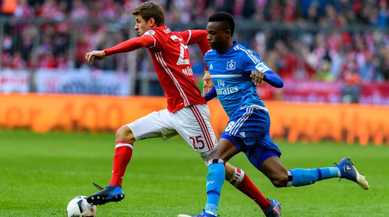 Thomas Muller comes to life for Bayern Munich vs. Hamburg