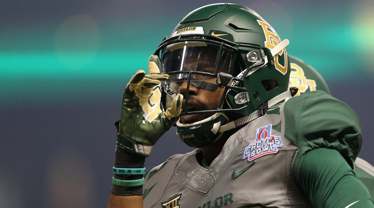 baylor football player suspended
