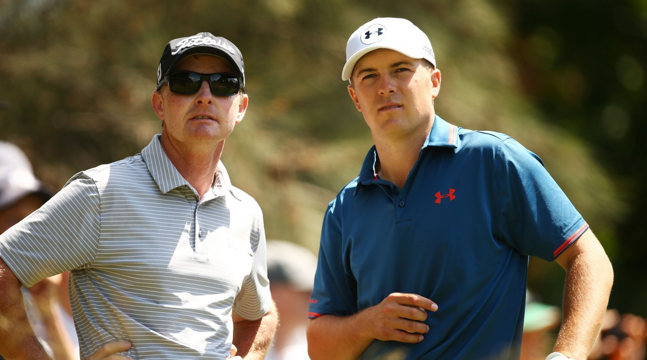 Cam McCormick (left) has been coaching Jordan Spieth for more than a decade.