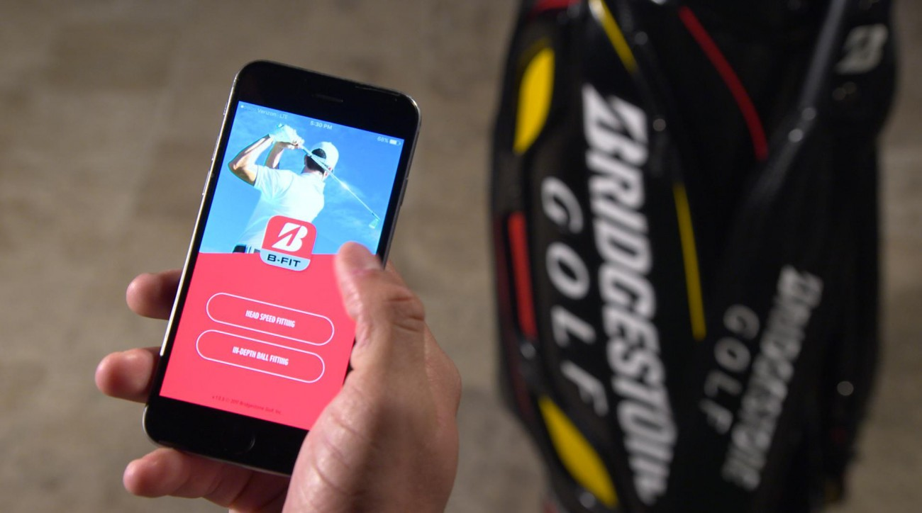 A look at the new BFIT app from Bridgestone Golf.