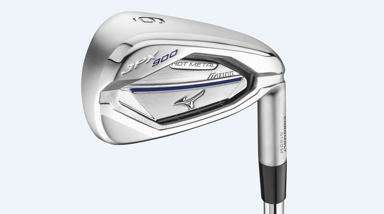 Mizuno JPX 900 Hot Metal irons.