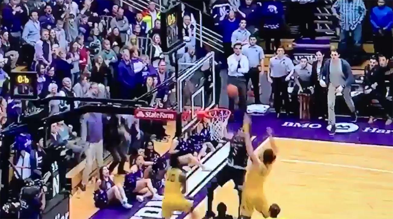 northwestern buzzerbeater michigan