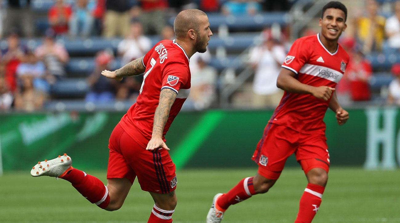 The Chicago Fire are hoping to reclaim old glory
