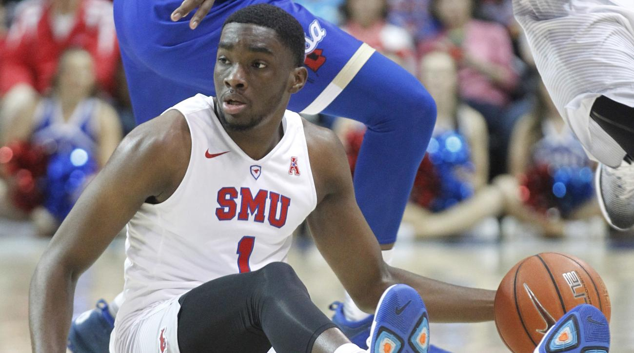 SMU basketball: Shake Milton's crazy alley-oop (video)