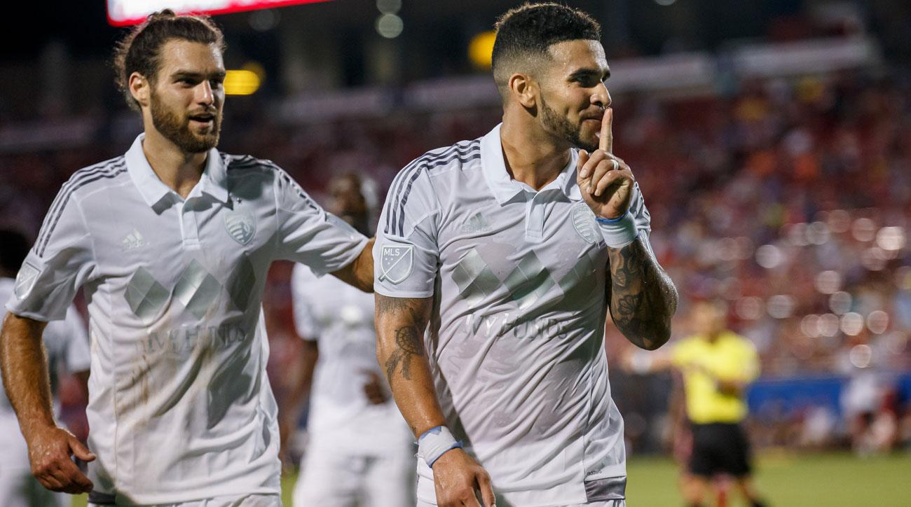 Sporting Kansas City is led by Graham Zusi and Dom Dwyer