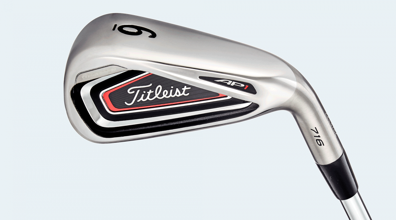 Titleist 716 AP1 irons.