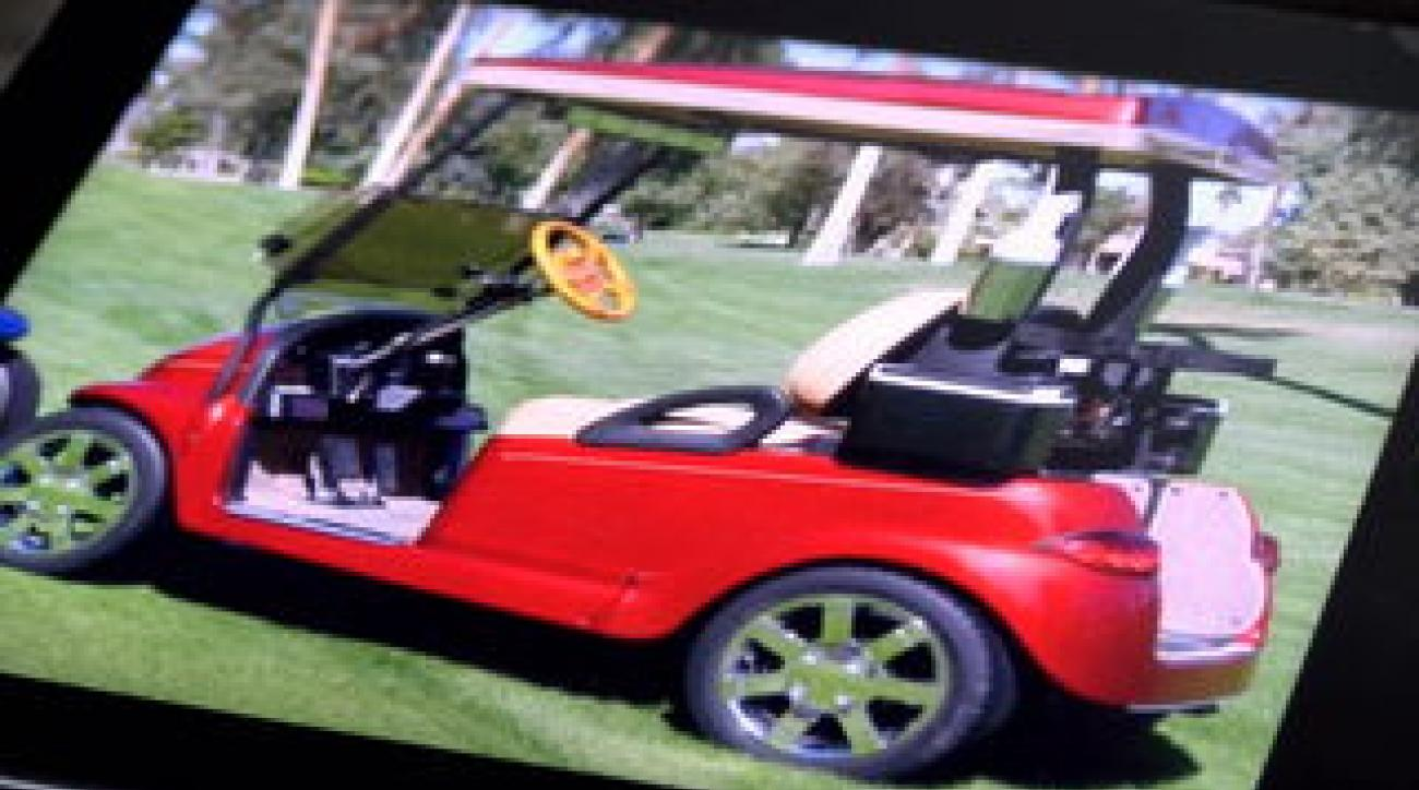 Tim Venturi had his golf cart stolen directly from his driveway.