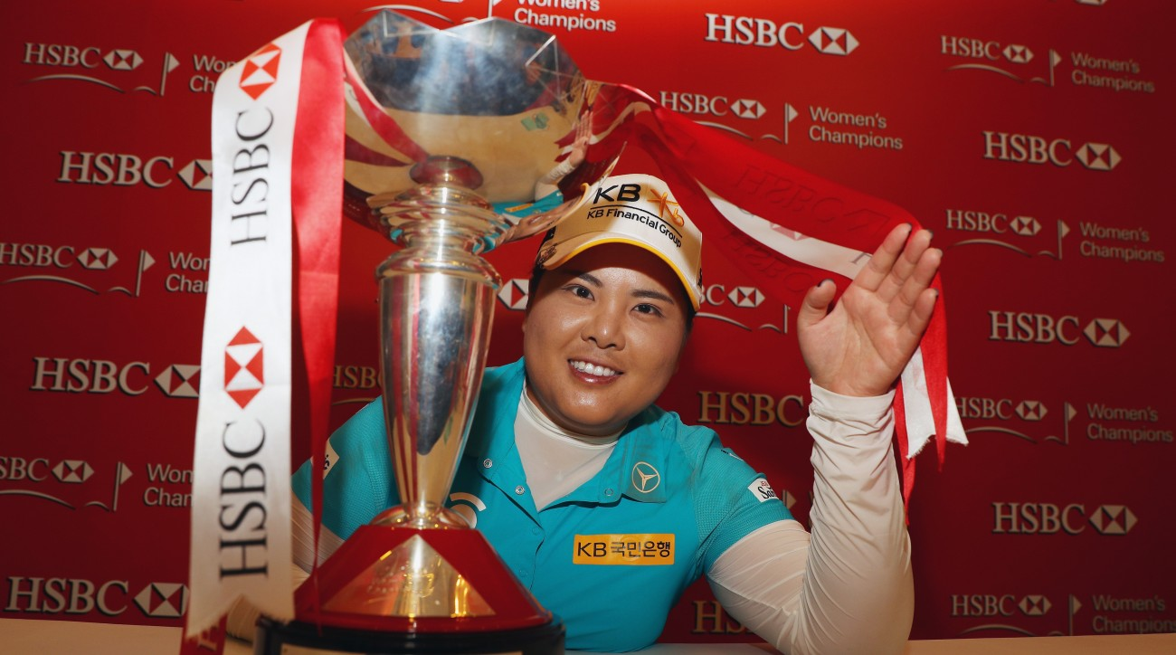 Inbee Park used nine birdies in 13 holes to race into the lead and win the HSBC Women's title in Singapore.