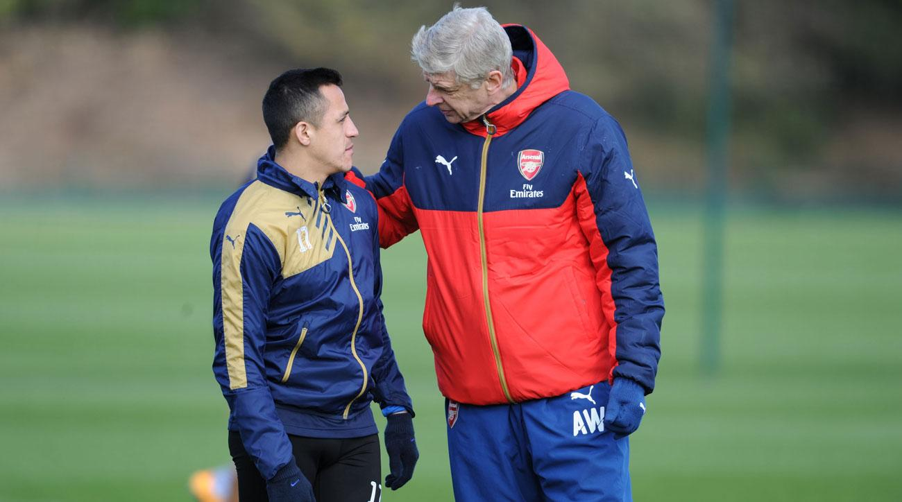 Arsene Wenger and Alexis Sanchez are involved in a conflict at Arsenal