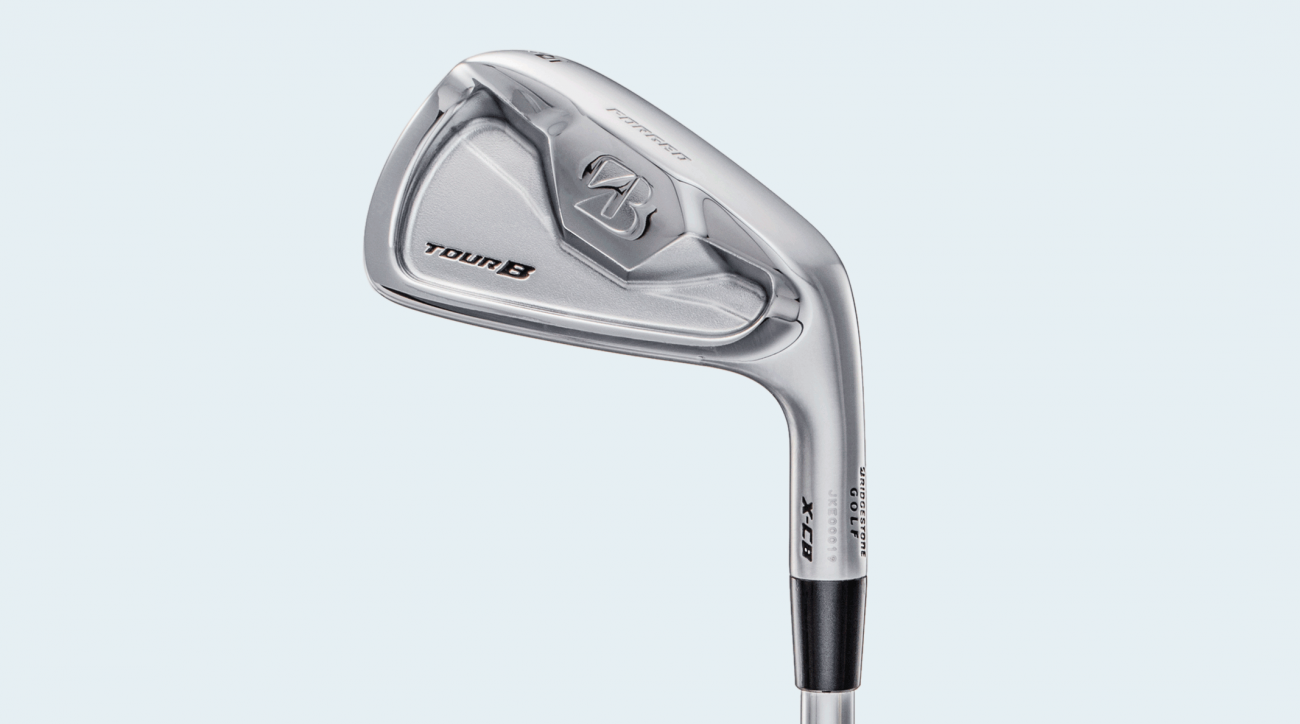 Bridgestone Tour B X-CB irons.