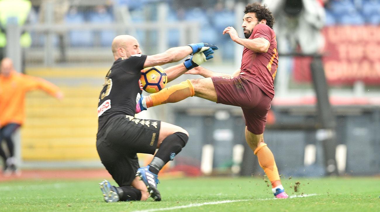 Pepe Reina saved Napoli vs. Roma