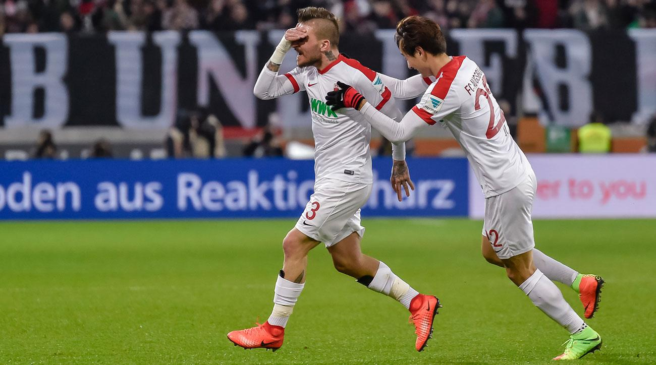 Kostas Stafylidis scores a phenomenal goal in the Bundesliga