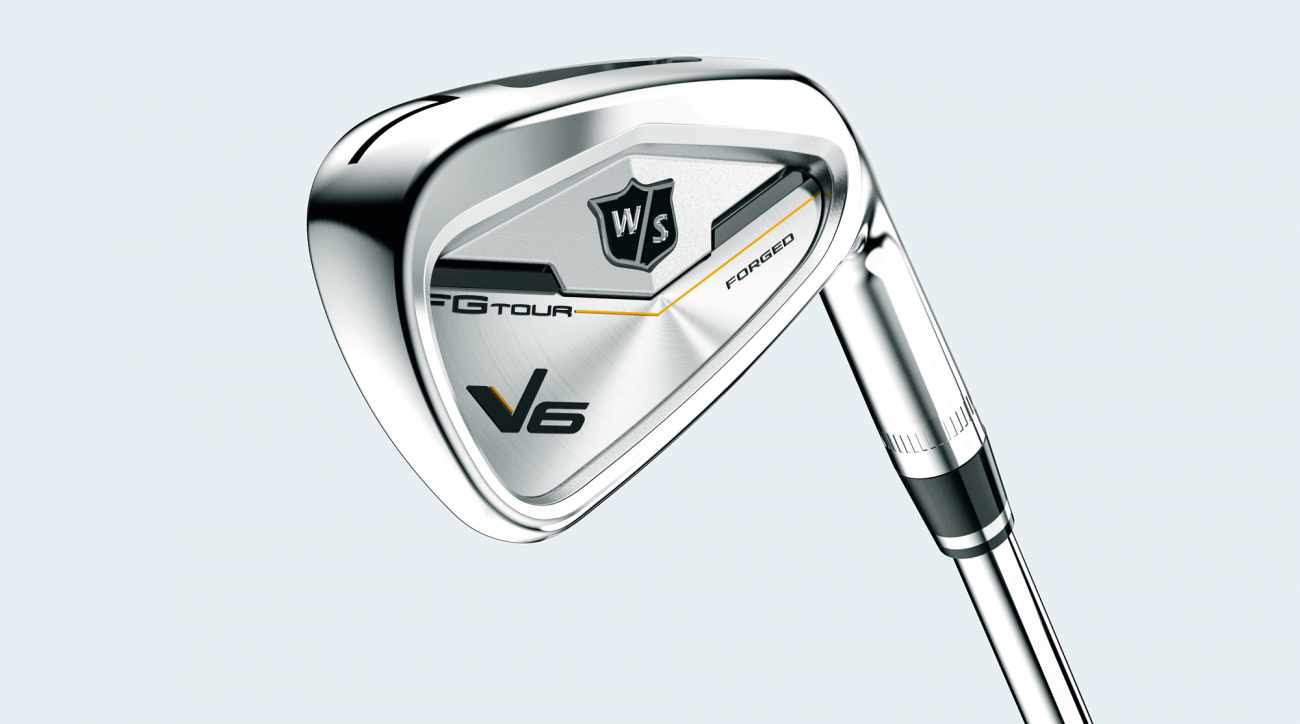 Wilson Staff FG Tour V6 irons.