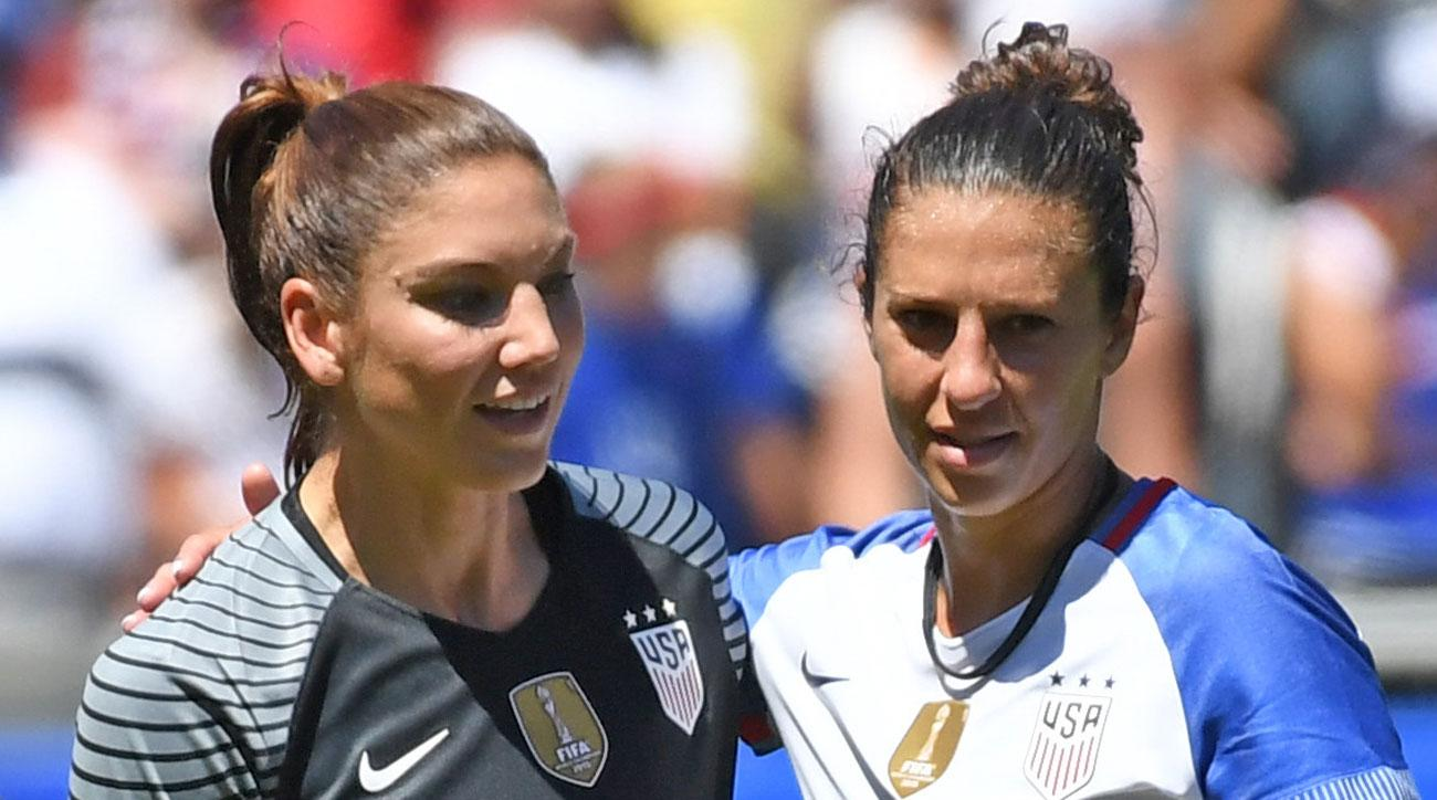 Carli Lloyd and Hope Solo are on the FIFPro Women's World XI