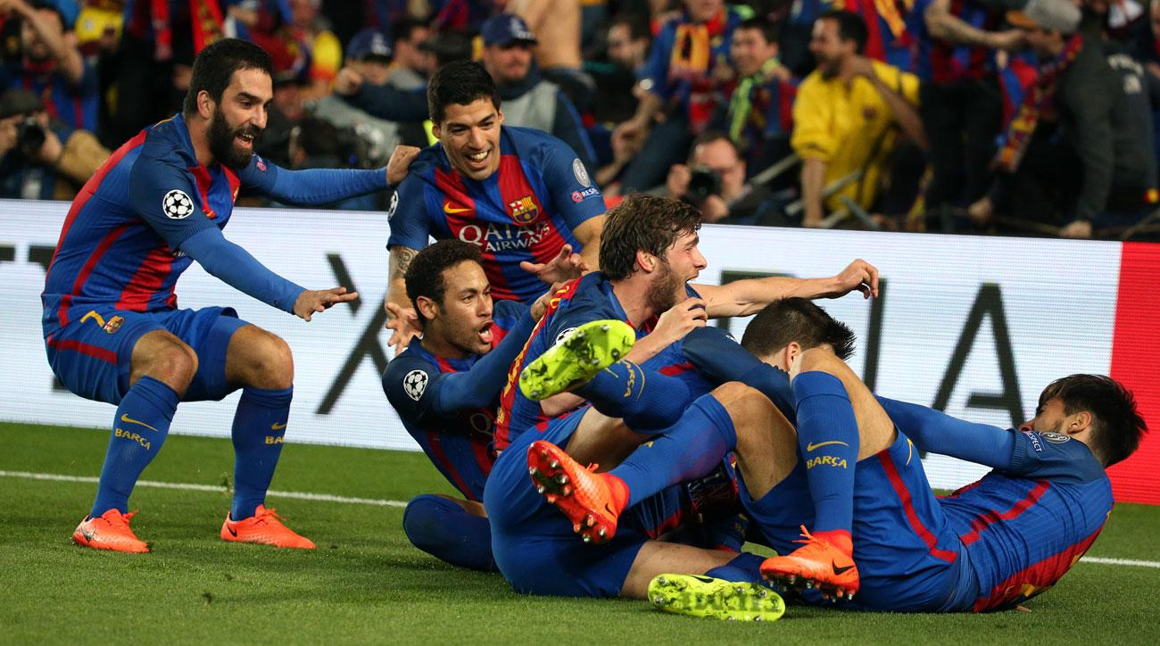 Barcelona completed the greatest comeback in Champions League history vs. PSG
