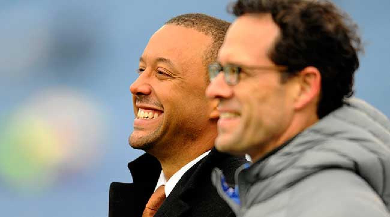 Cleveland braintrust: Sashi Brown and Paul DePodesta.