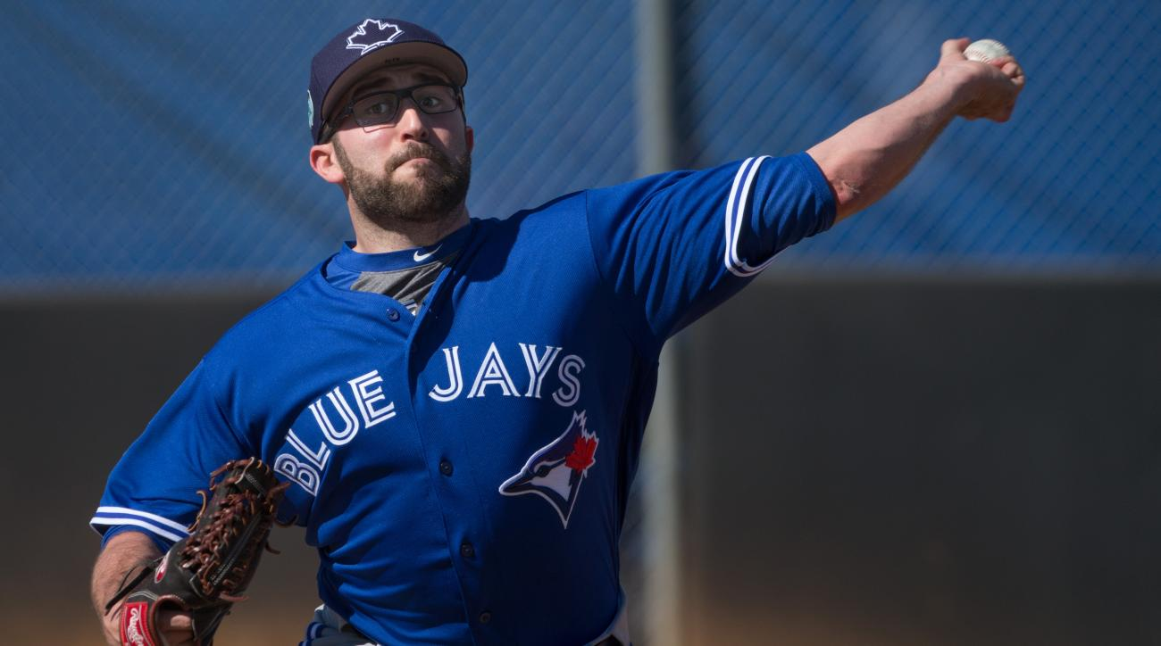 TJ House: Blue Jays pitcher hit in head by line drive