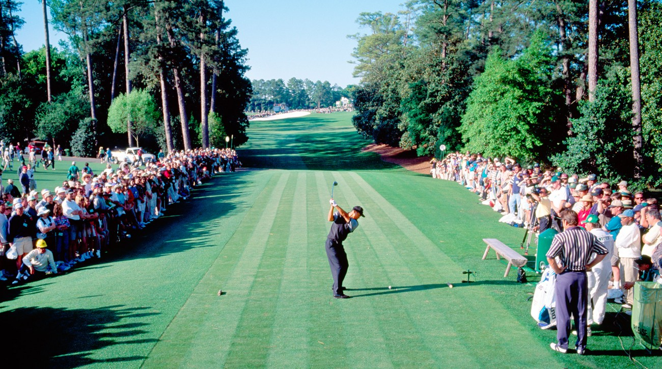Twenty years ago, a young master named Tiger Woods thrilled the sports world when he broke records—and barriers—on his way to his first major win, at Augusta National.
