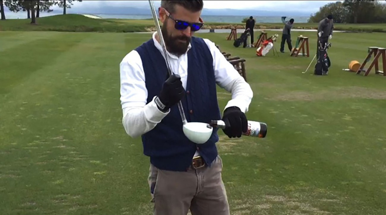 The Big Beertha might become a staple 14th club in golfer's bags.