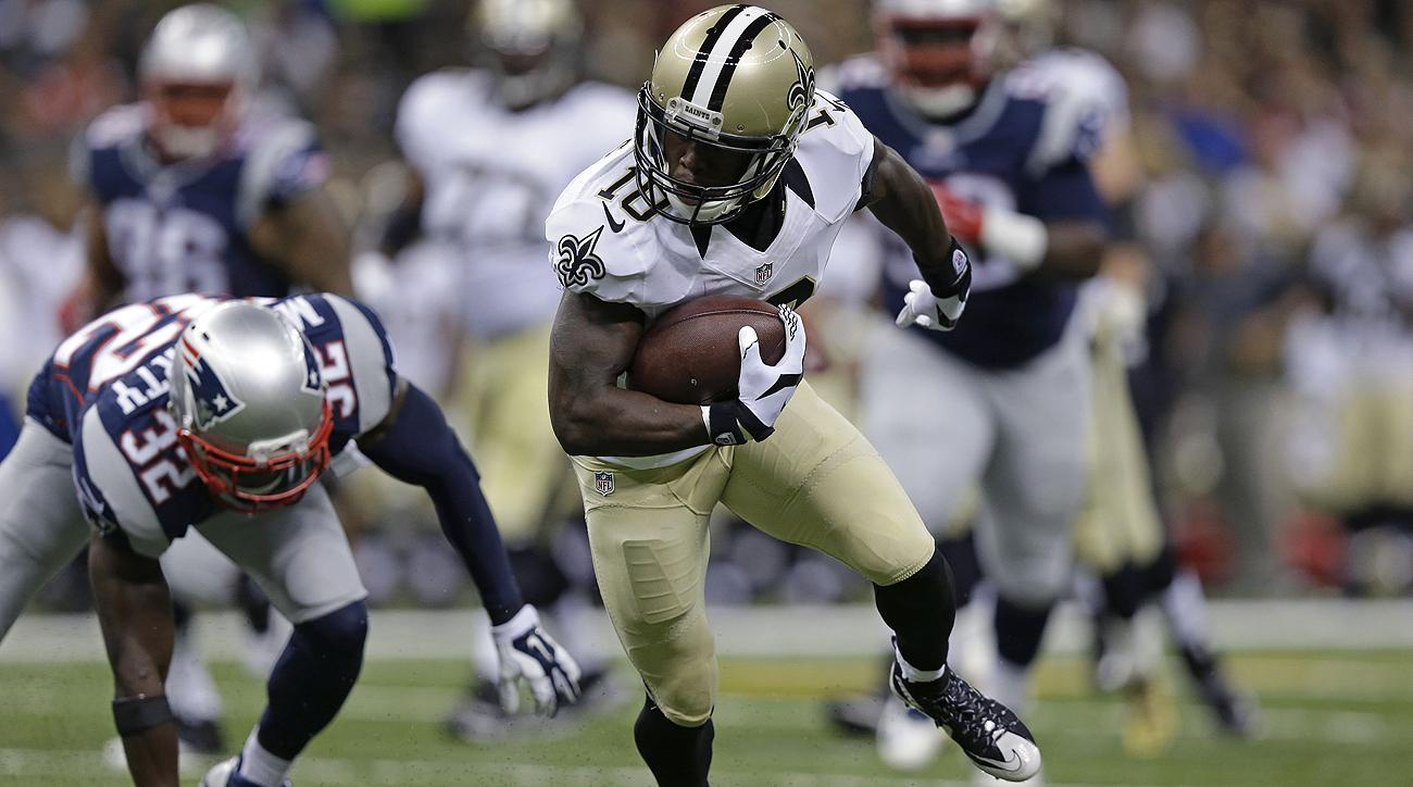 The Patriots got an up close look at Brandin Cooks in the 2015 preseason when he caught four passes for 117 yards and a touchdown against them.