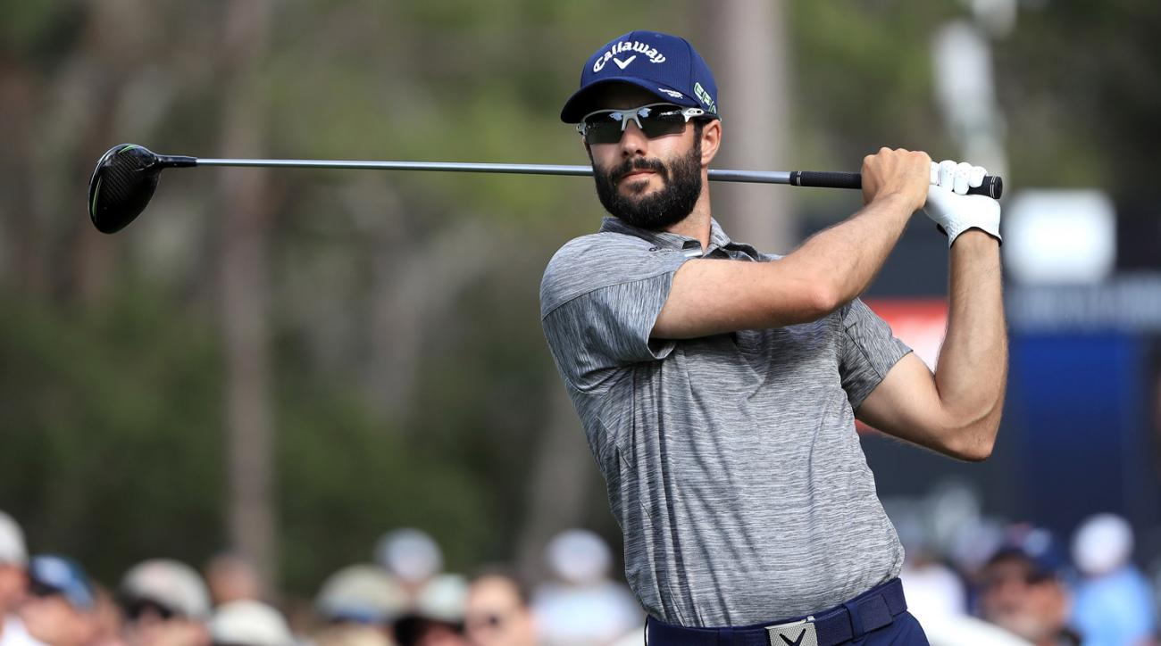 Adam Hadwin on Sunday at the Valspar Championship.