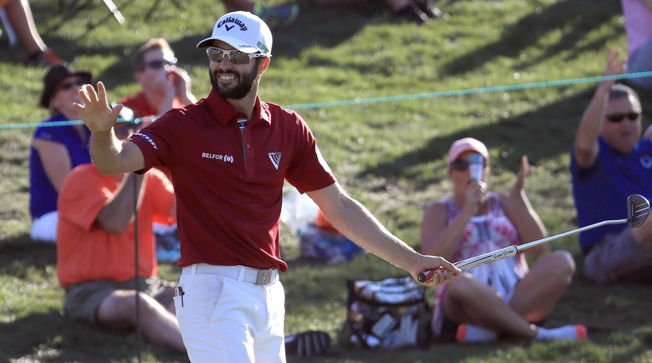 Adam Hadwin is one of the best putters on Tour this season, and it showed this weekend at the Valspar Championship.