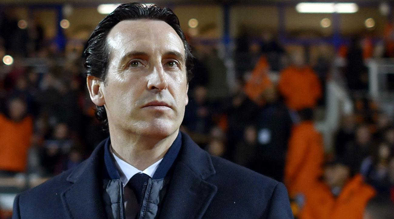 Unai Emery is back under hot water at PSG