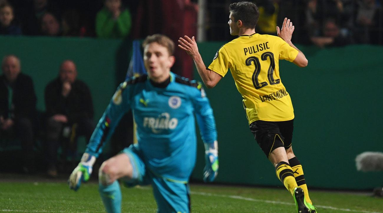 Christian Pulisic has been on fire for Borussia Dortmund