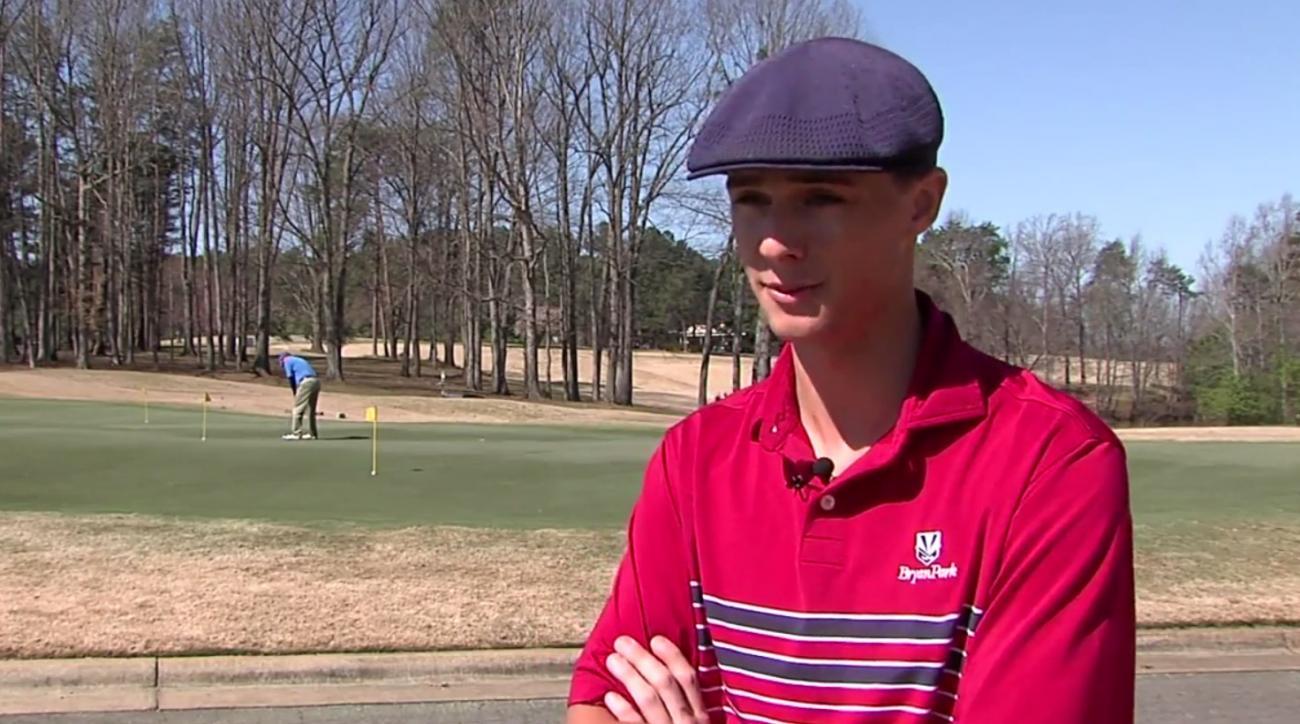 High School Senior Joe Gessel as seen in MyFox8's video report.