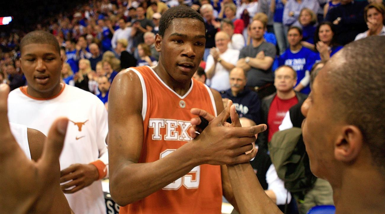 where did kevin durant play college basketball
