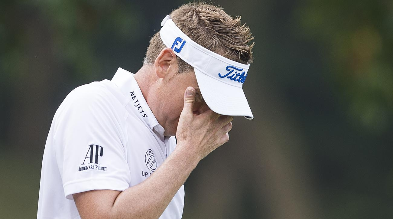 Why do shanks happen to Ian Poulter so often? Let him explain.