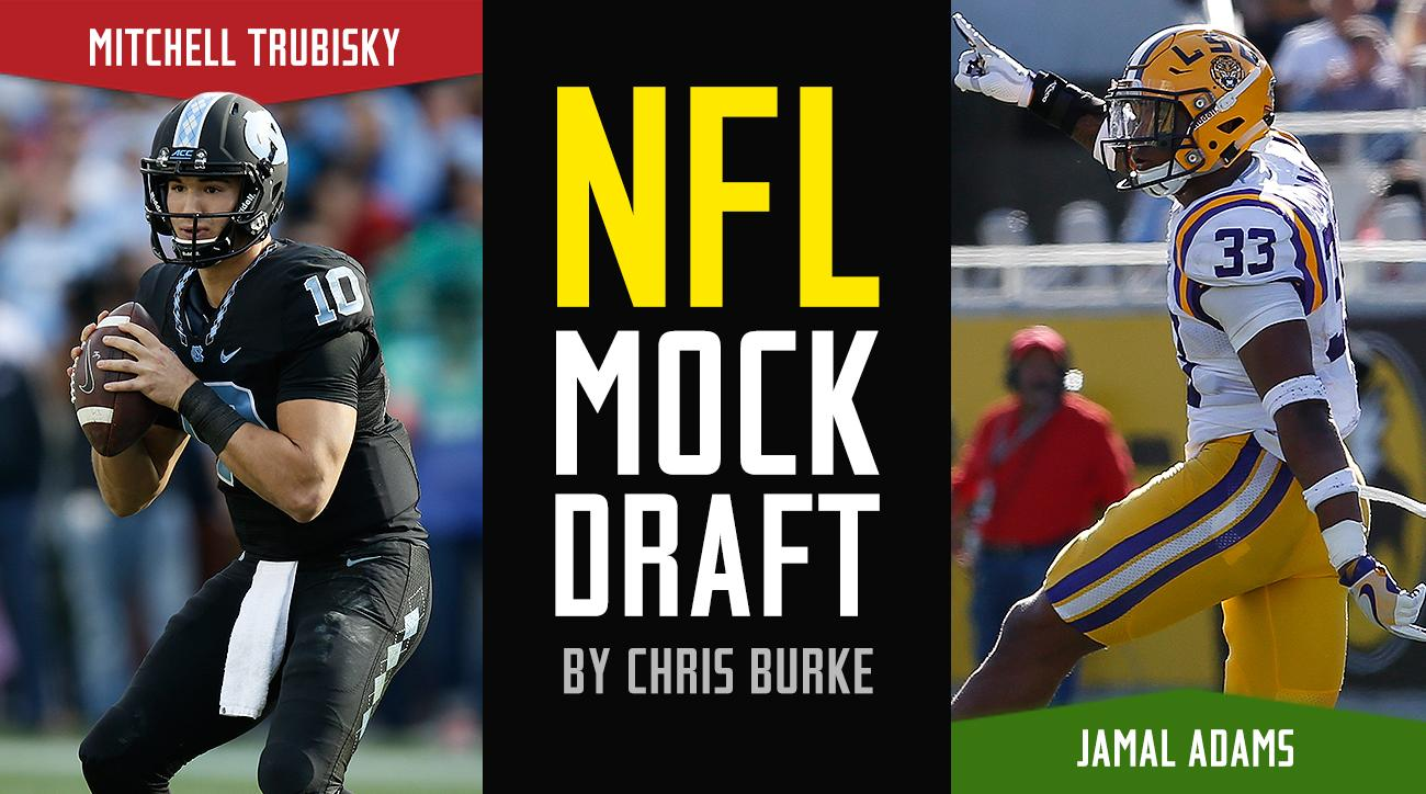 NFL Mock Draft 2017: First-round order, results, projections, picks
