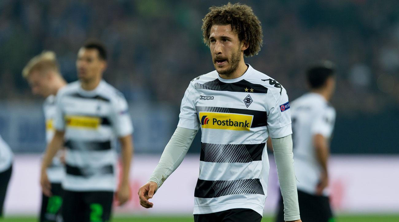 Fabian Johnson was hurt in Borussia Monchengladbach's match vs. Schalke