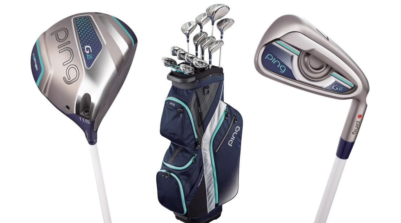 Ping g series drivers ping g series irons ping g series woods golf - The Full Ping G Le Line Includes A Driver Woods Hybrids Irons And
