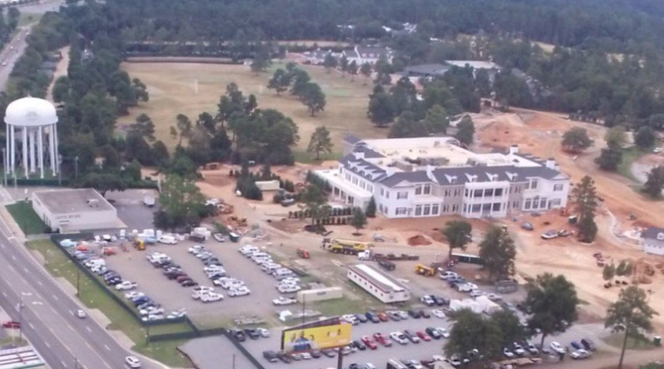 The new Augusta National media center will be open for business for the 2017 Masters in April.