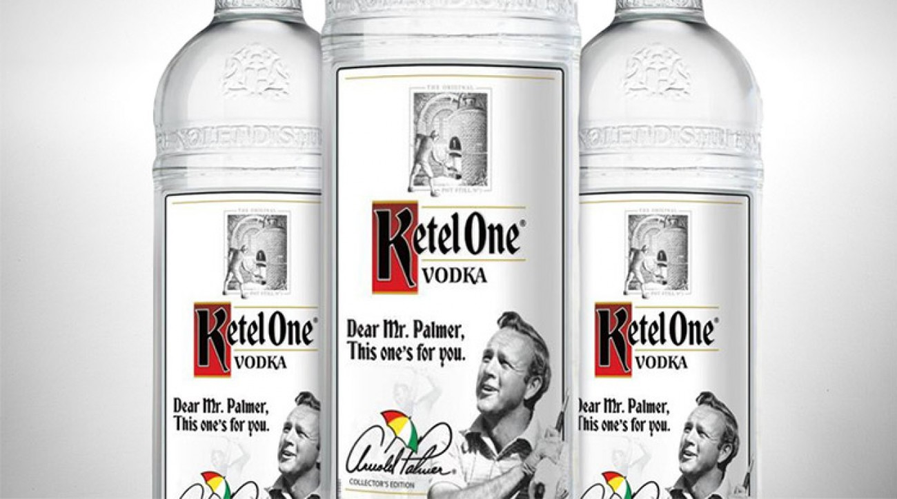 Ketel One's limited edition Arnold Palmer bottle retails for $34.