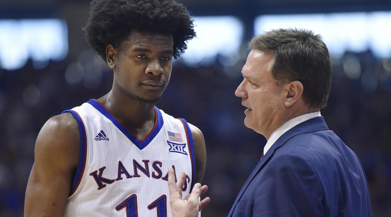 Kansas' Josh Jackson threatened to 'beat' women's player